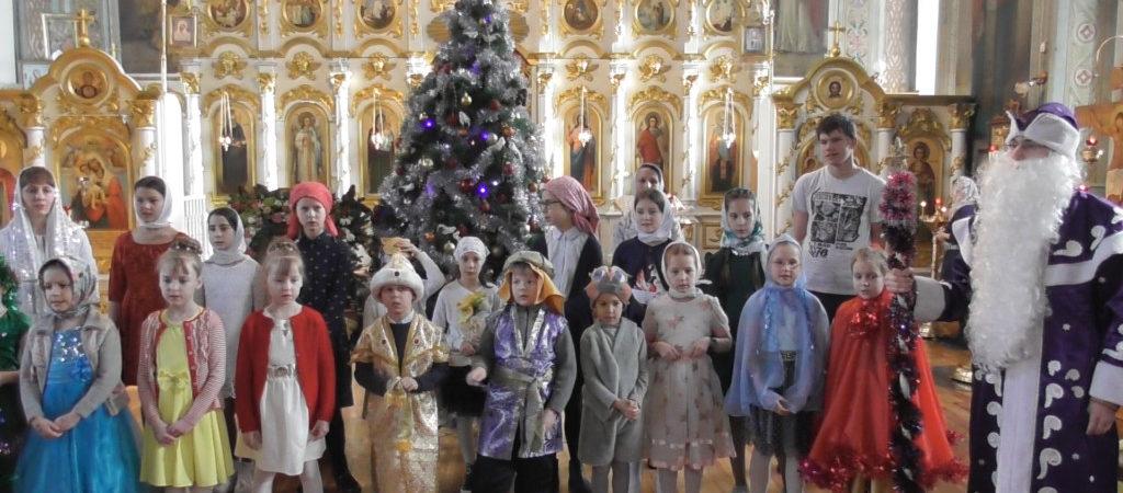 Рождество Христово в Никольском соборном храме г. Сатка